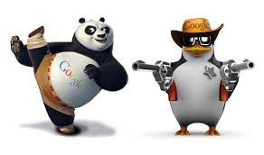 Penguine and Panda hit