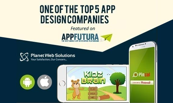 Planet Web Solutions Features in Top 5 App Developers Series by AppFutura