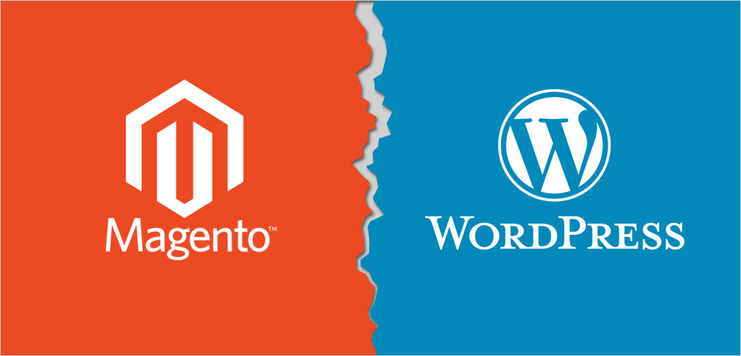 Magento or WordPress