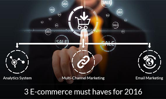 3 E-Commerce Must Haves for 2016