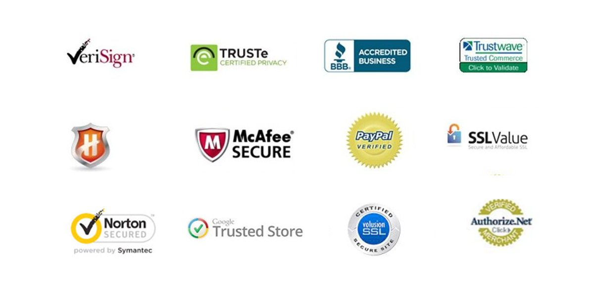 Trust Insignias for ecommerce