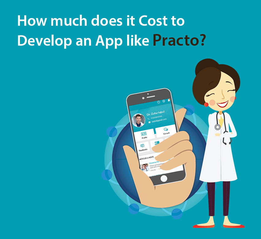 How much does it Cost to Develop an App like Practo?