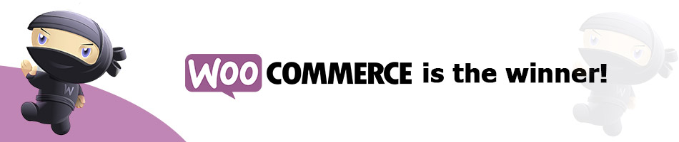 Woocommerce is the winner