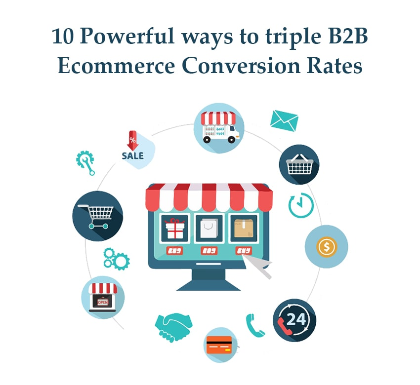 10 Powerful ways to triple B2B Ecommerce Conversion Rates