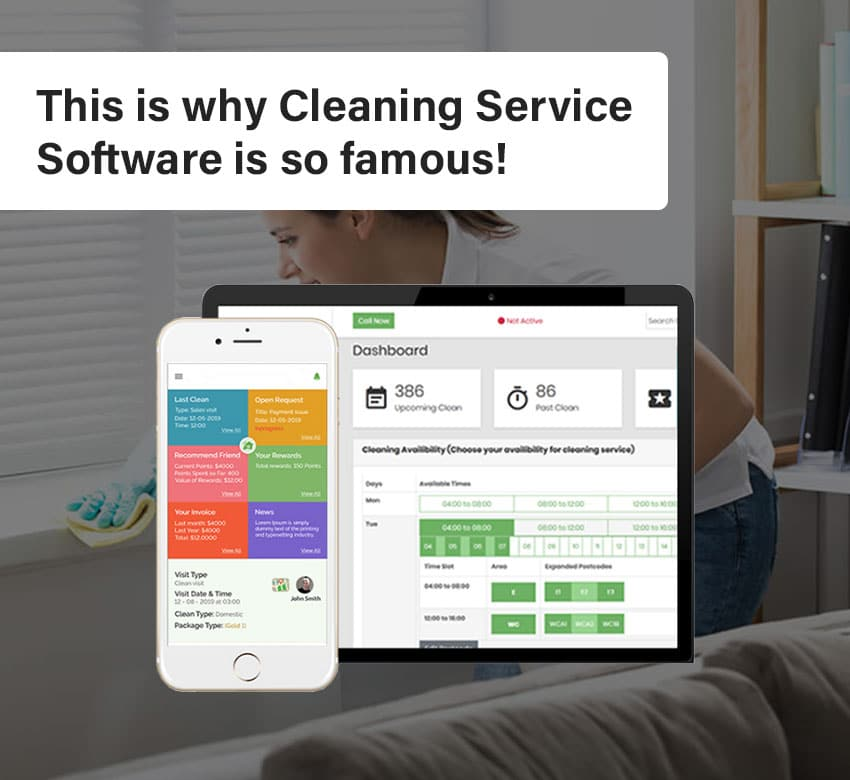 This is why Cleaning Business Software is so famous!