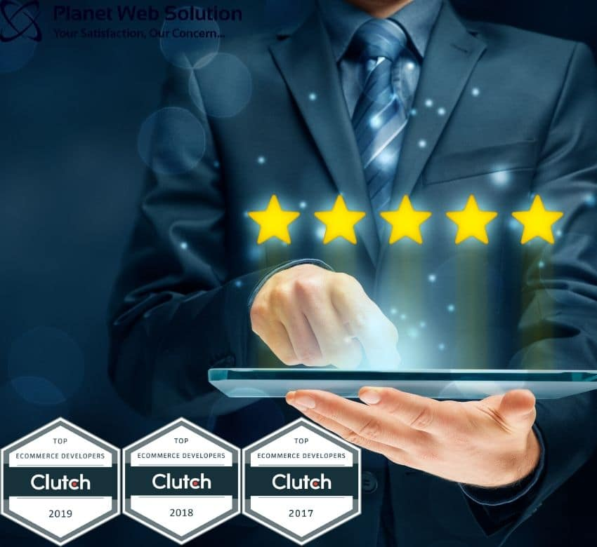 Planet Web Solutions Pvt. Ltd. Receives Another 5-Star Rating!